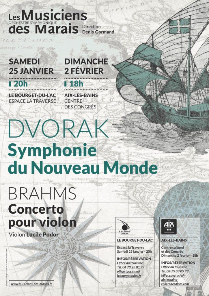 Affiche Concerts Musiciens des Marais 2020